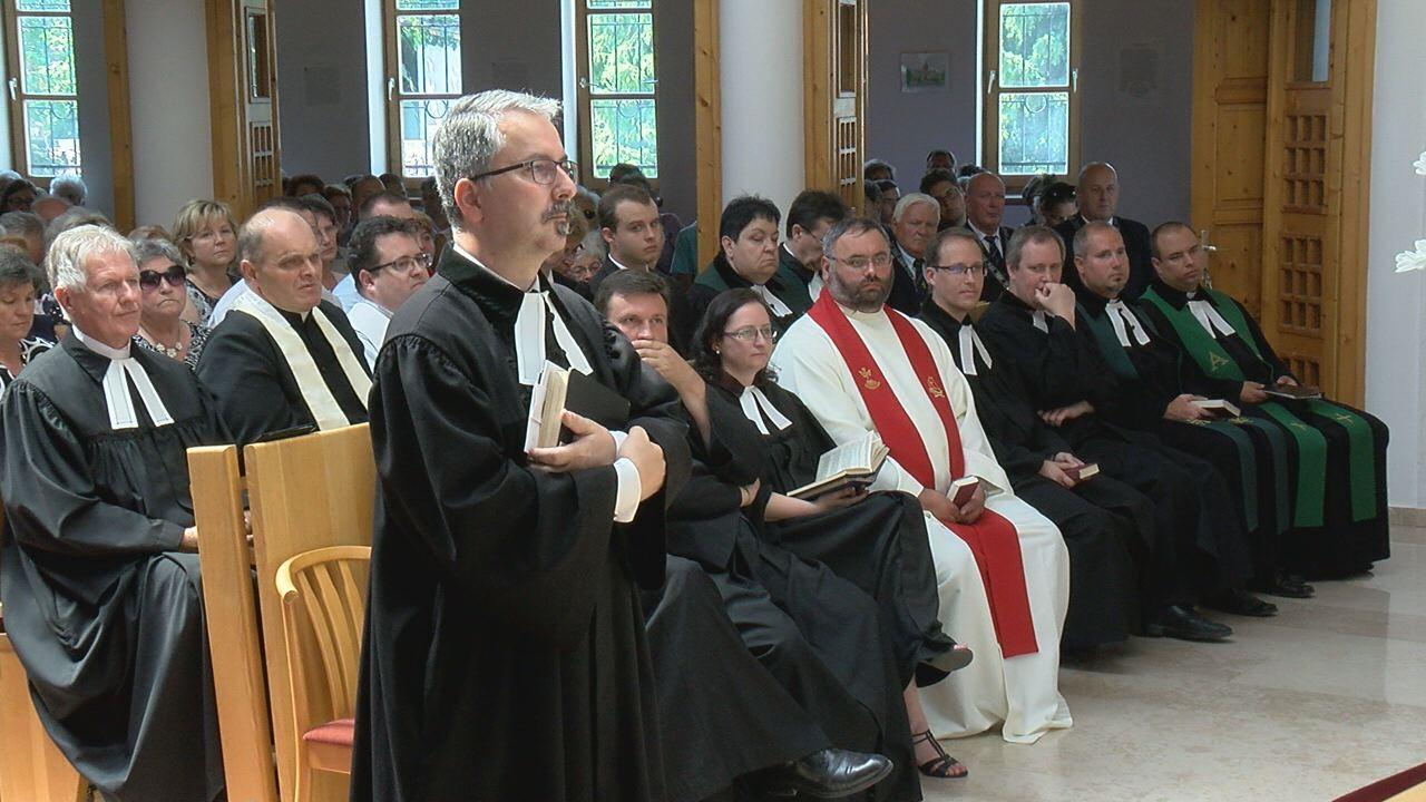 Új lelkész a füredi evangélikusok élén