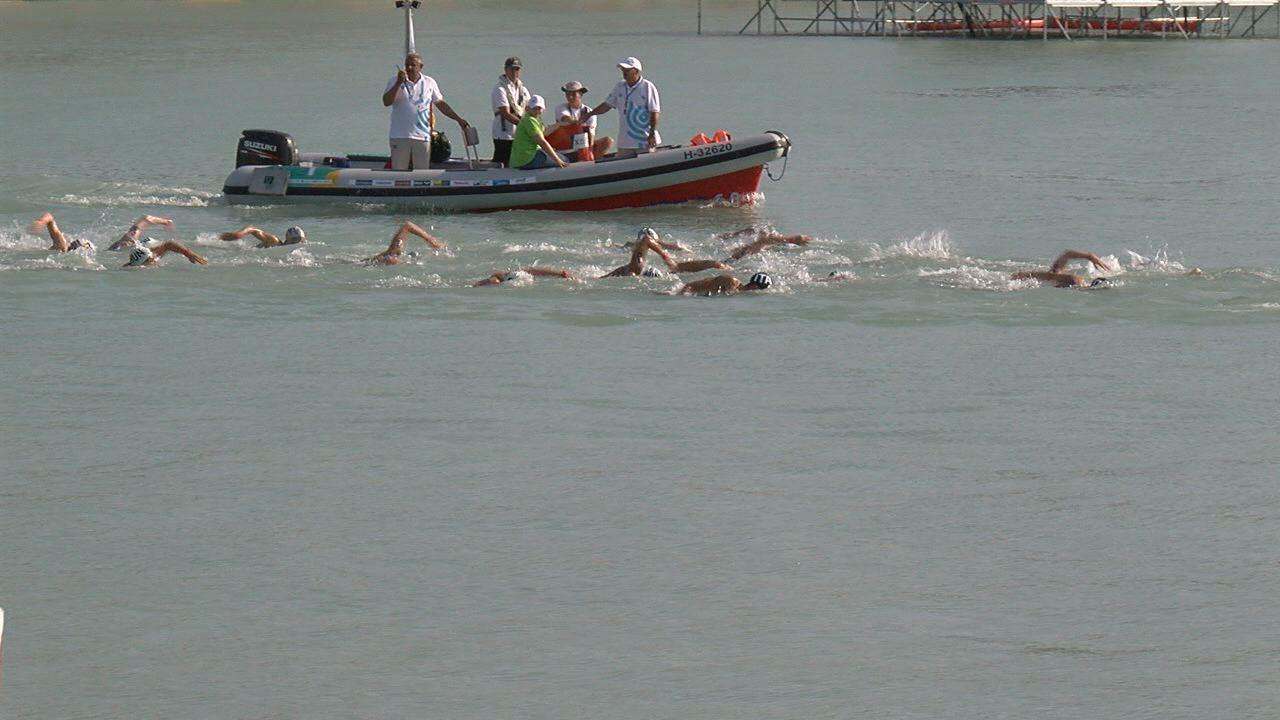 A férfi és női 25 km-es döntővel  búcsúzott Balatonfüred a vizes vb-től