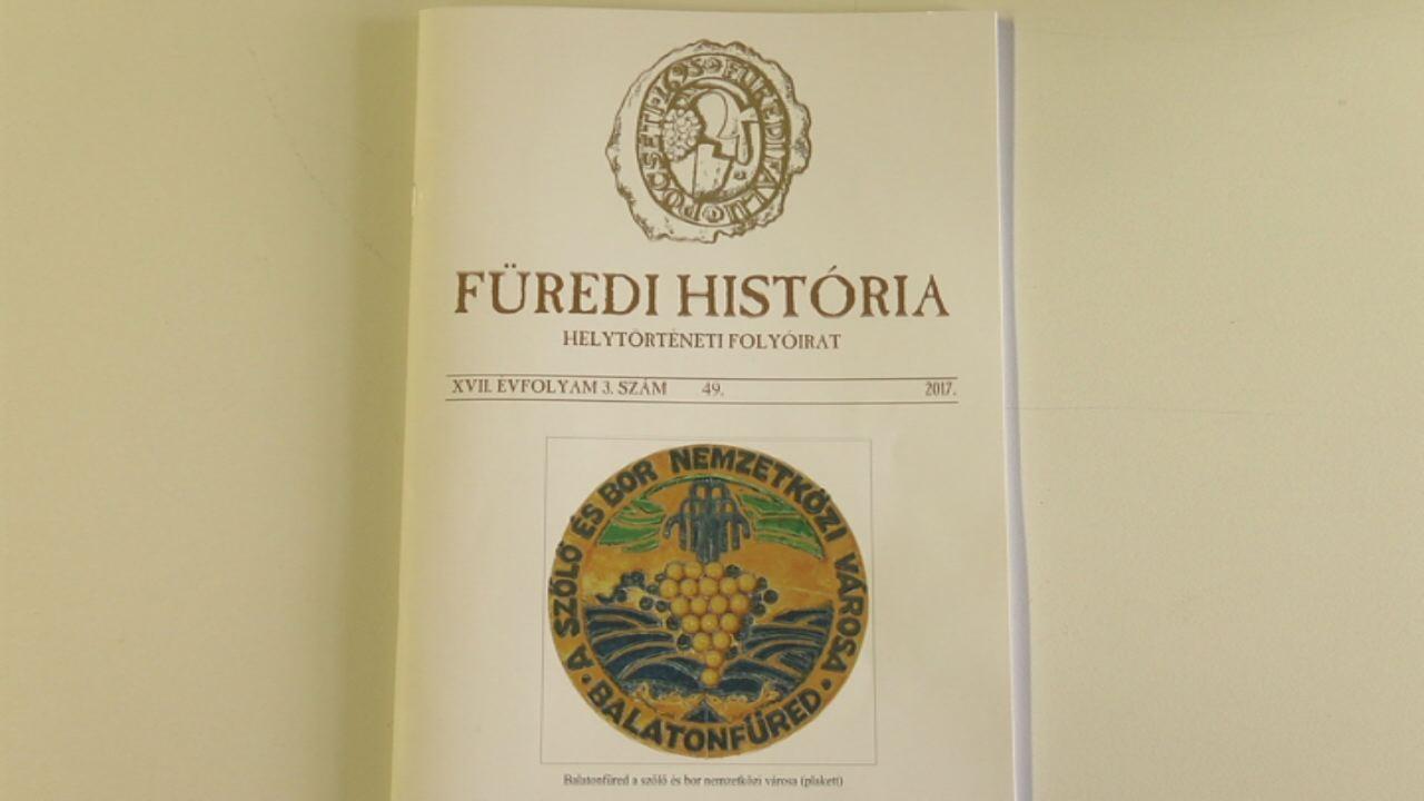 Újabb helytörténeti csemegék a Füredi Históriában