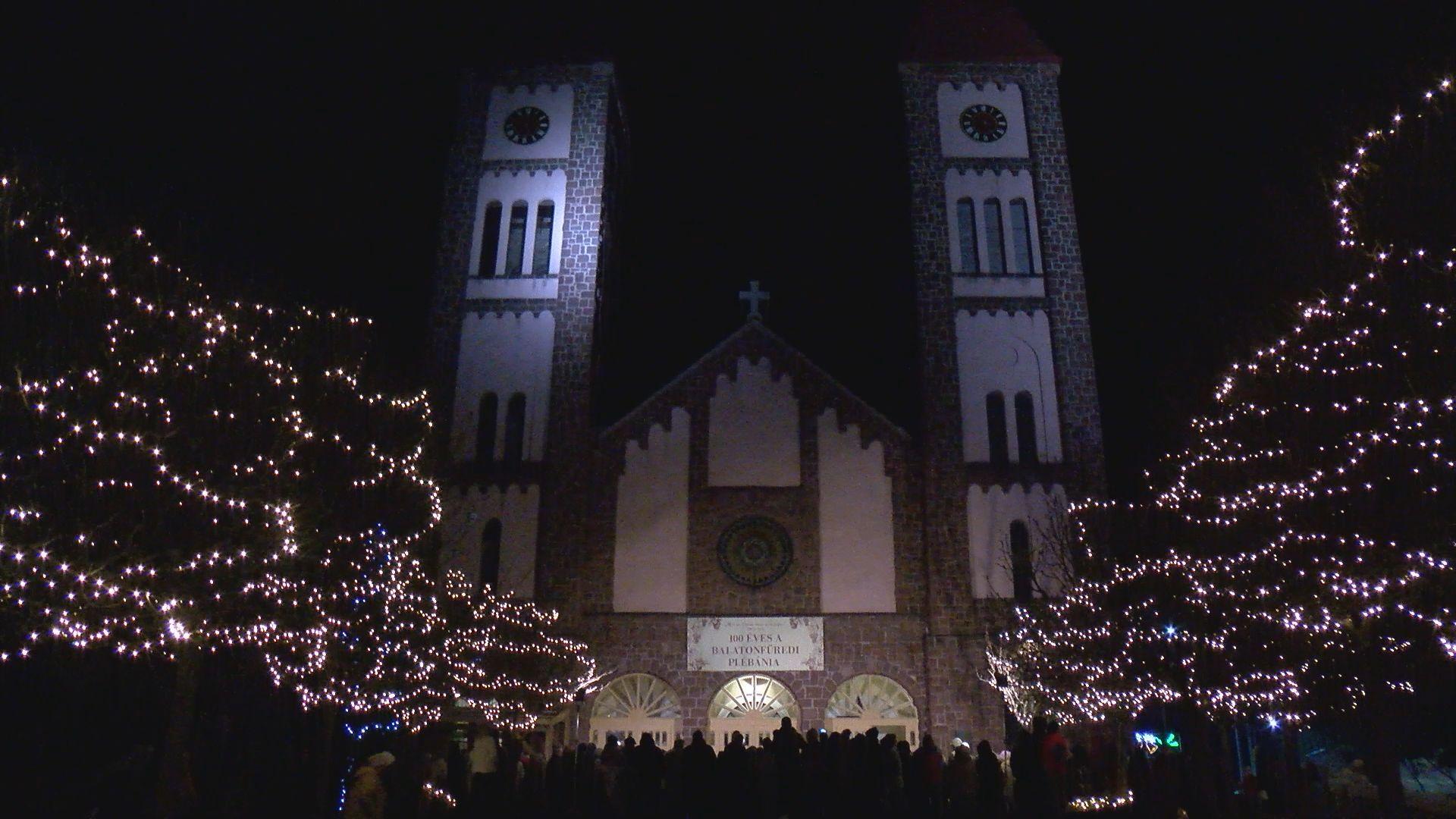 Megkezdődött az advent Balatonfüreden is
