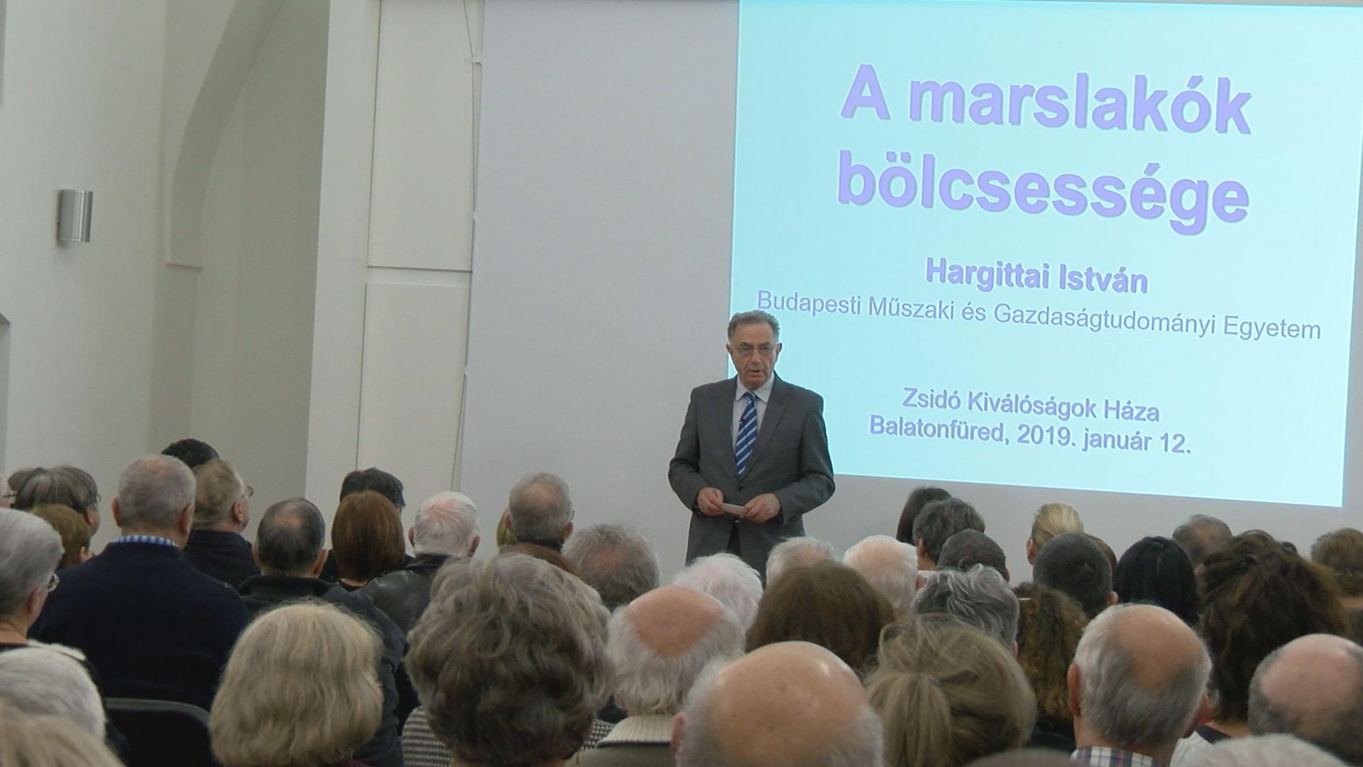 Hargittai István előadása magyar atomtudósokról