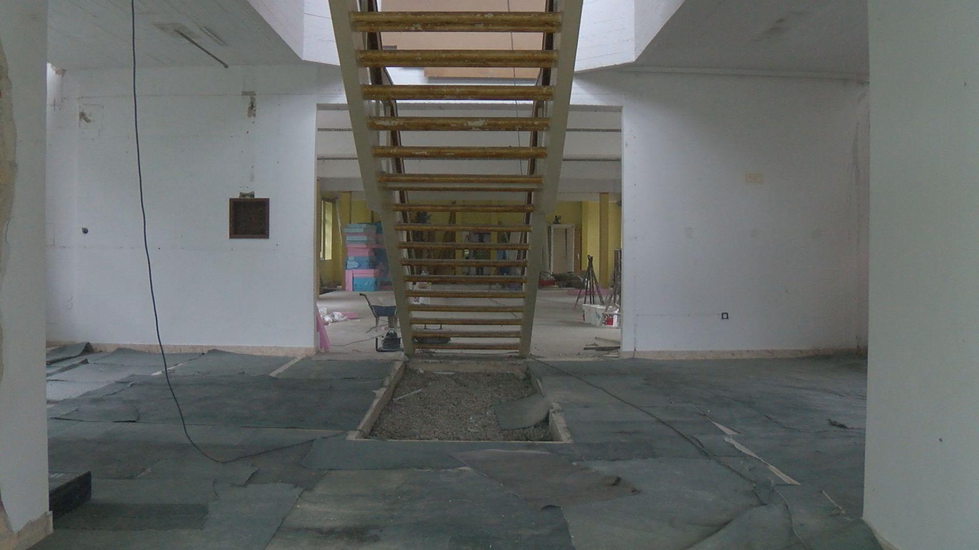 Elkezdődött a városi könyvtár felújítása