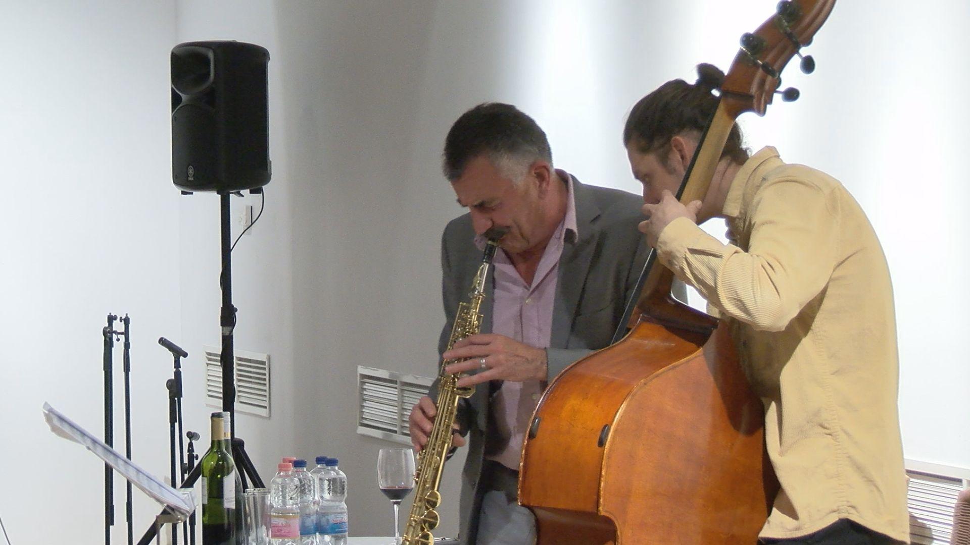 Dresch Mihály és Pataki András a Parker Jazz Clubban