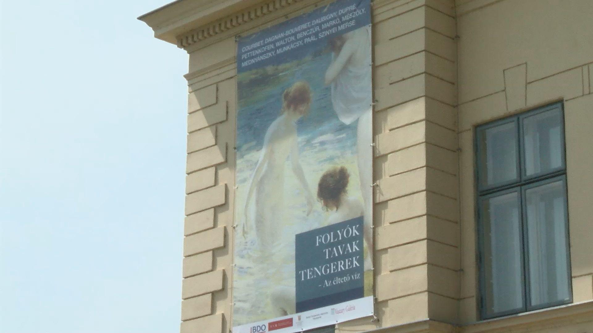 Az éltető víz - új kiállítás a Vaszary Galériában