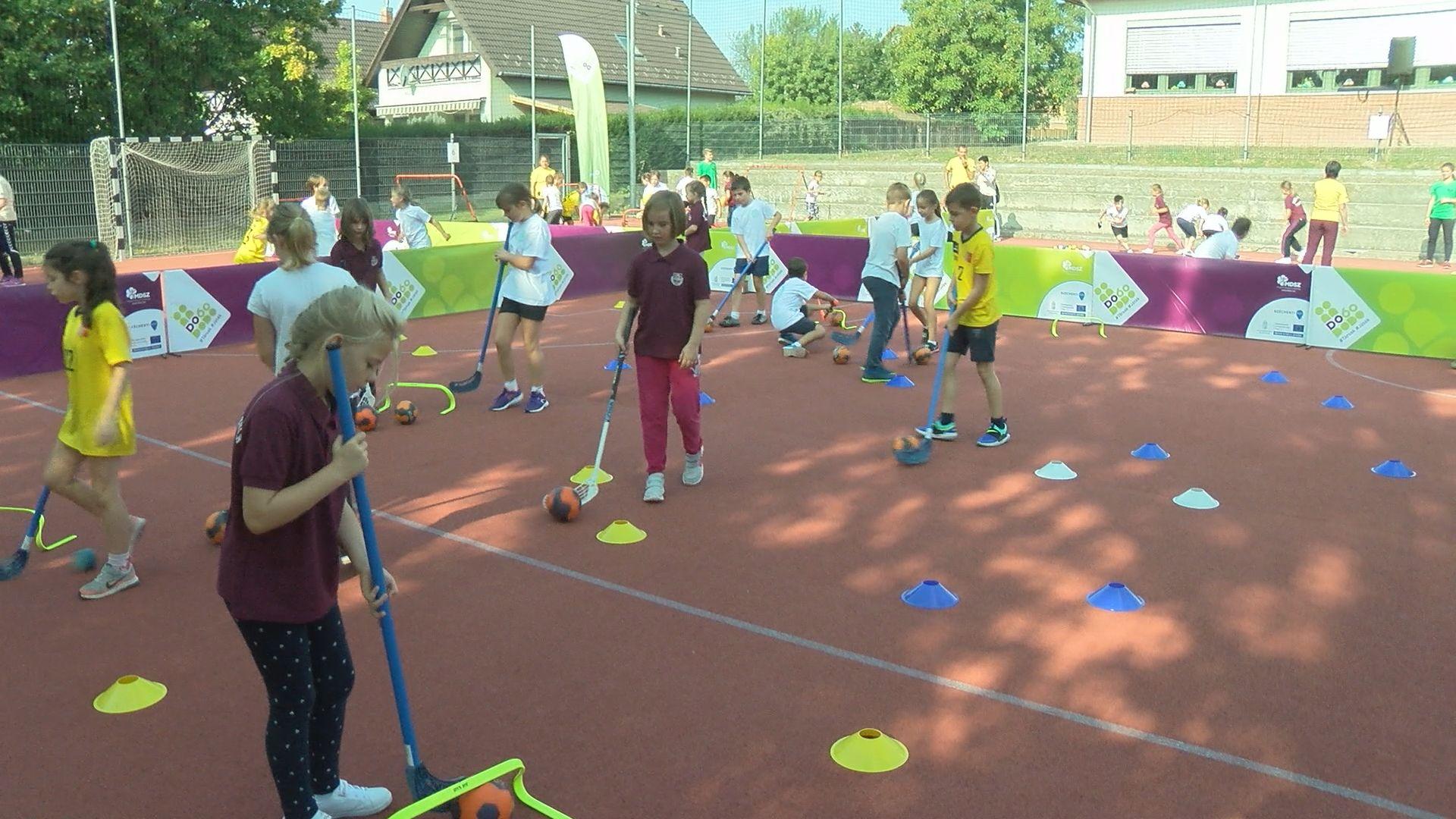 Diáksport fesztivál az Eötvös iskolában