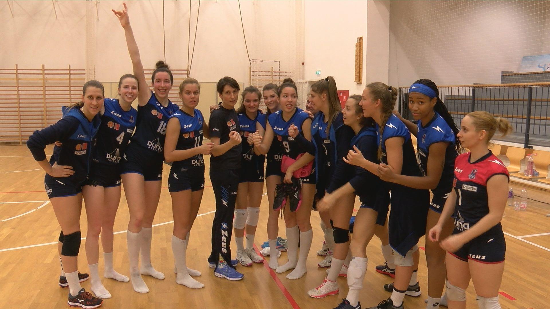 Vezeti a bajnokságot a Szent Benedek Gimnázium női röplabda csapata