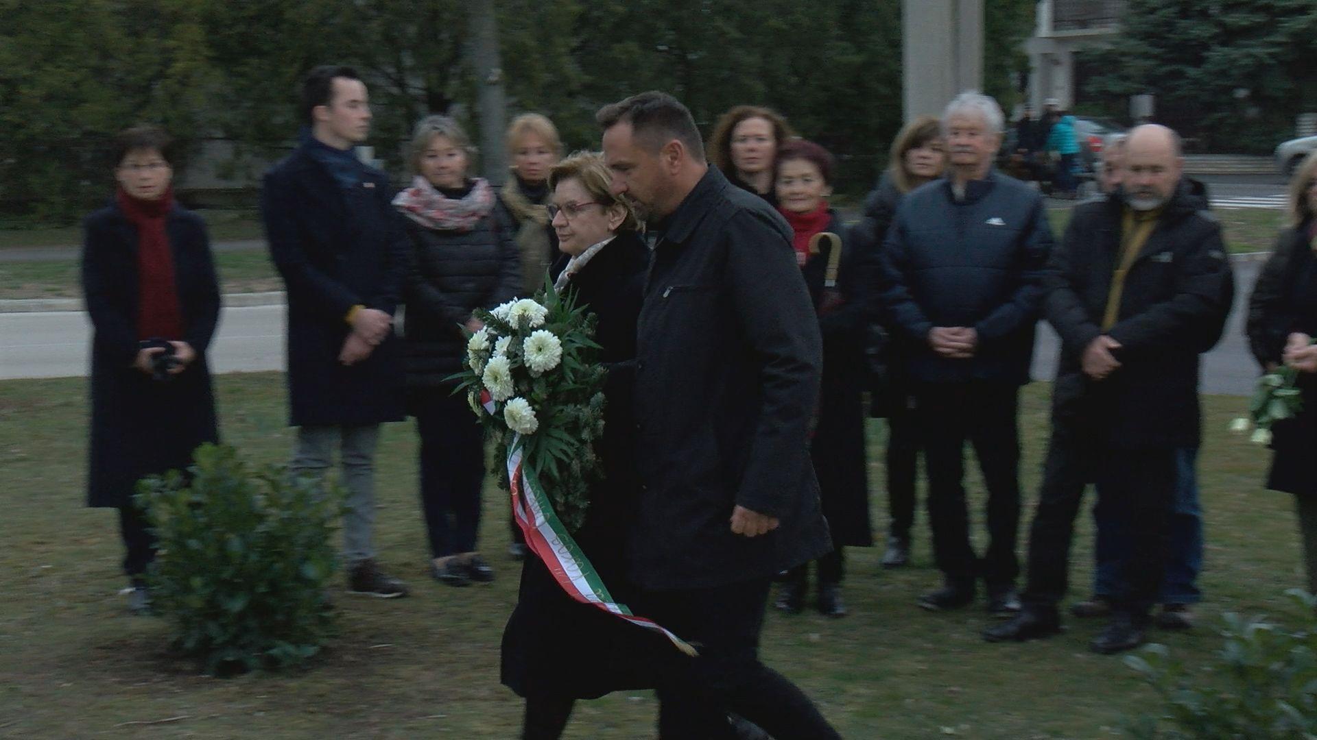 A kommunista diktatúrák áldozataira emlékeztek Balatonfüreden