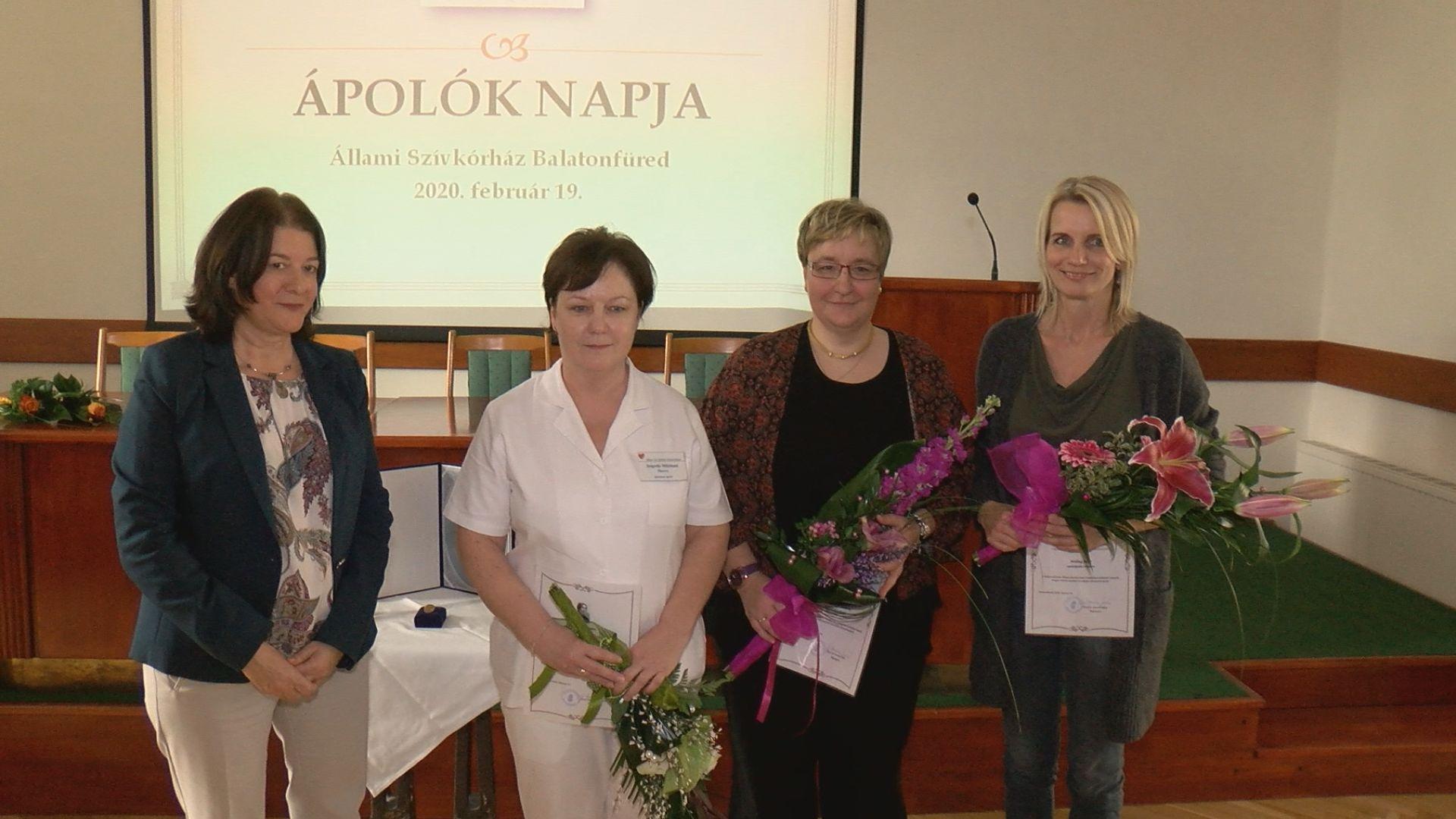 A szívkórház ápolóit köszöntötték