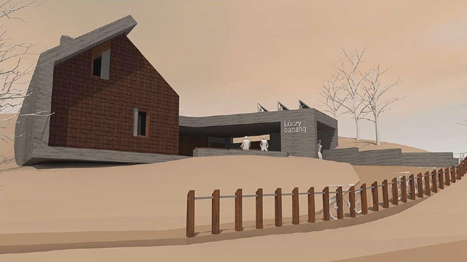 Jövő tavasszal nyithat az új látogatóközpont a Lóczy-barlangnál