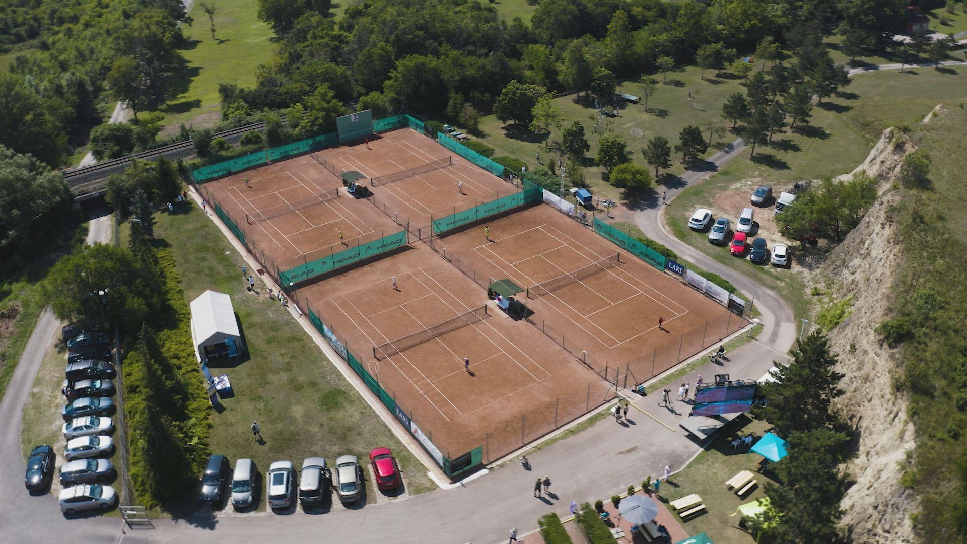 Országos korosztályos teniszverseny Balatonfüreden