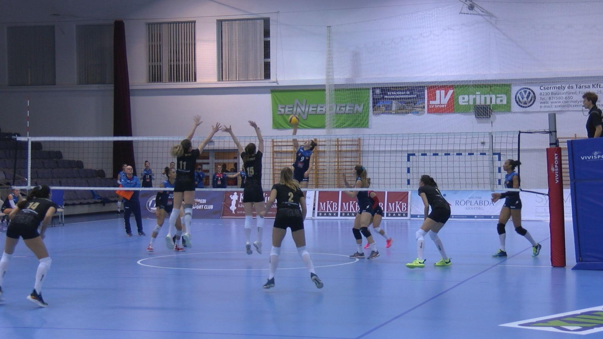 Szent Benedek Röplabda Akadémia - Békéscsaba női röplabda mérkőzés