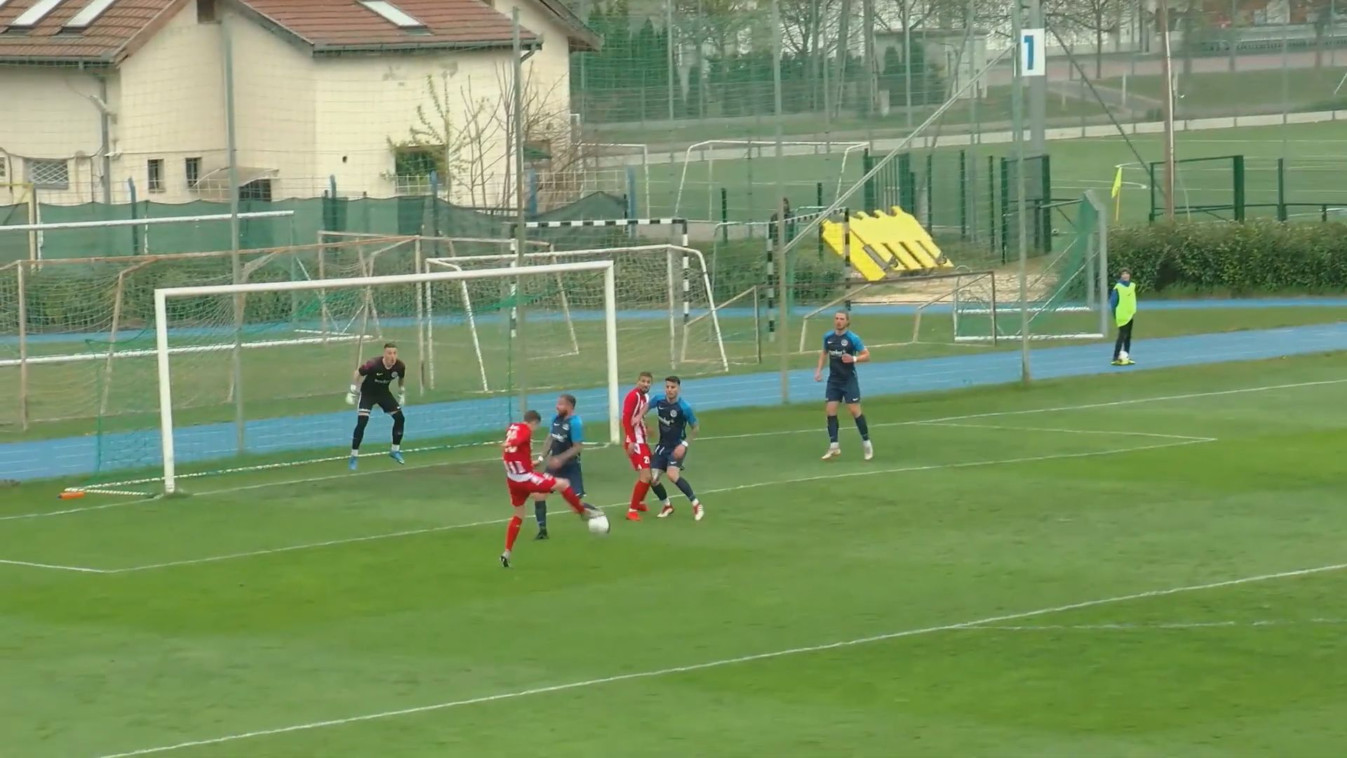 III.ker TVE - BFC bajnoki labdarúgó mérkőzés összefoglaló