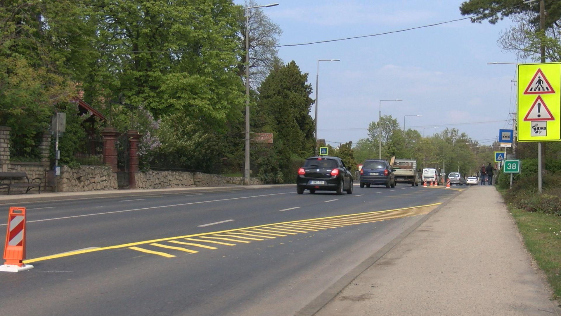 Jelentősen átalakult a 71-es főút Séta utcai kereszteződése