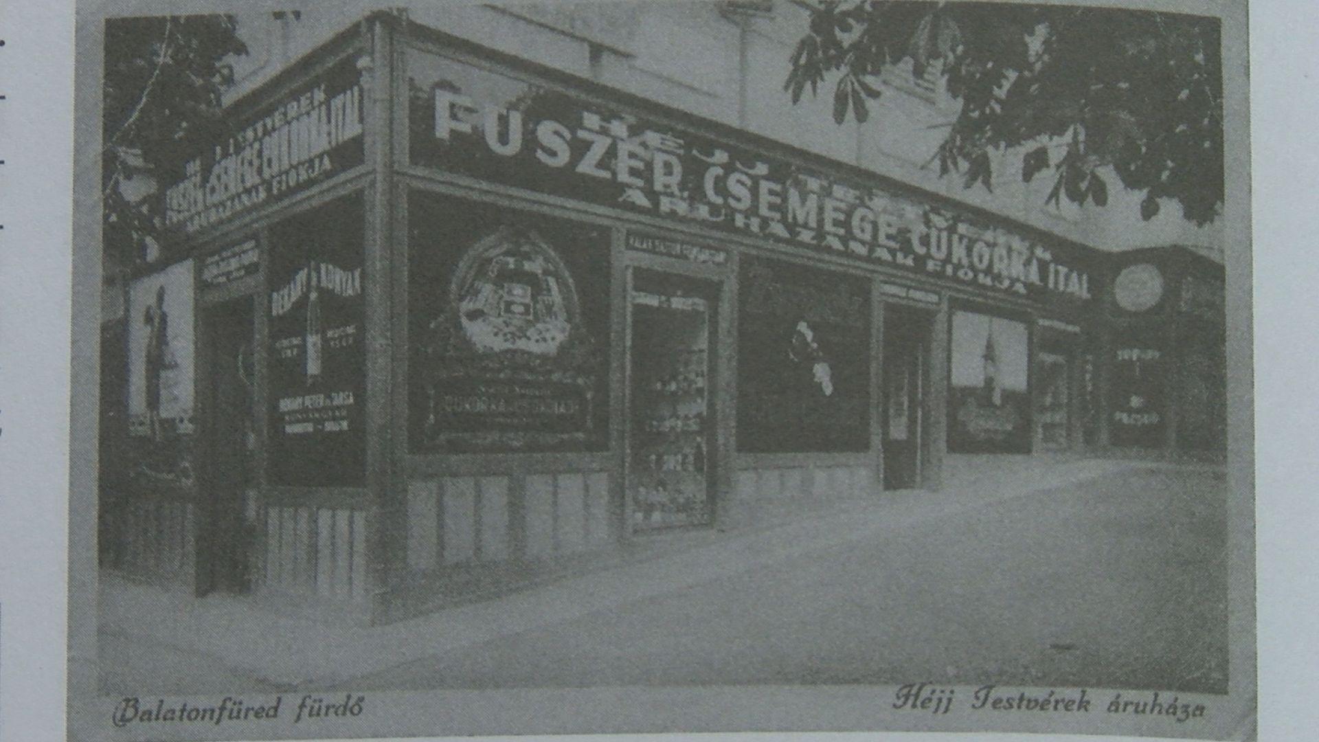 Héjj-áruház a Horváth-házban