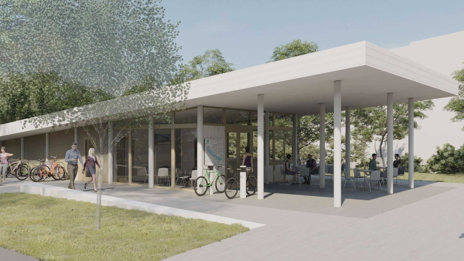 Tavaszra elkészül az új kerékpáros központ